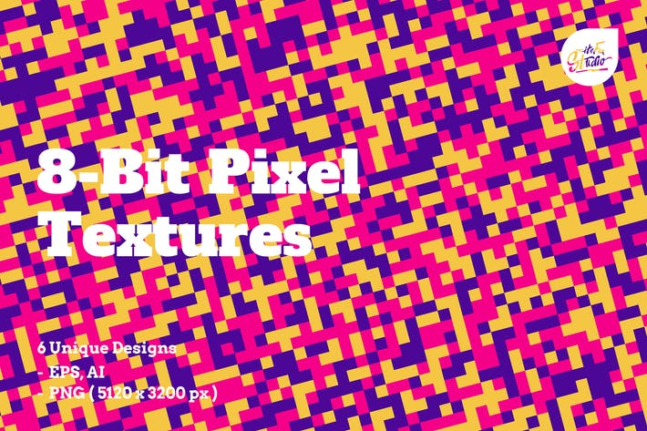 Thumbnail for 8-Bit Pixel Textures