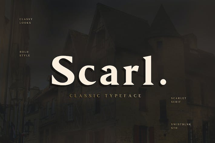 Thumbnail for Scarllet Serif