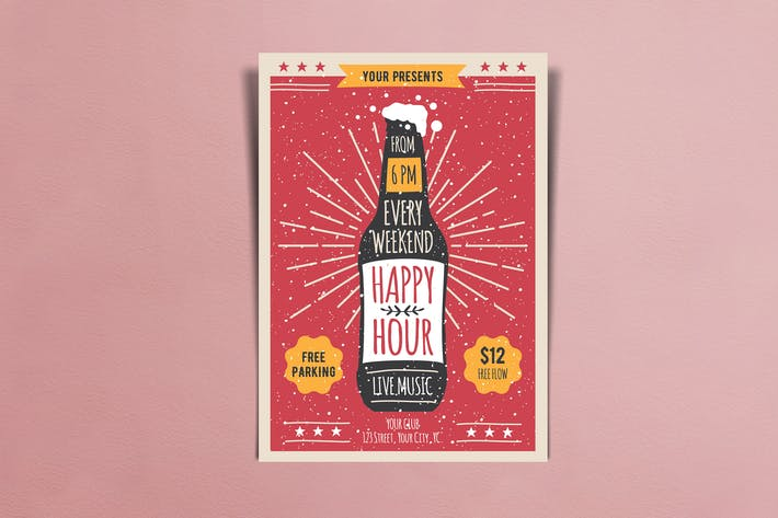 Thumbnail for Happy Hour - Dépliants teilles