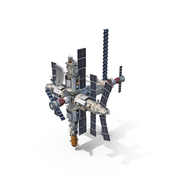 Cover Image for Mir Space Station