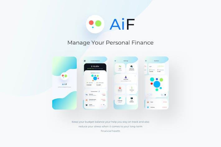 AiF Ai Finance Mobile App