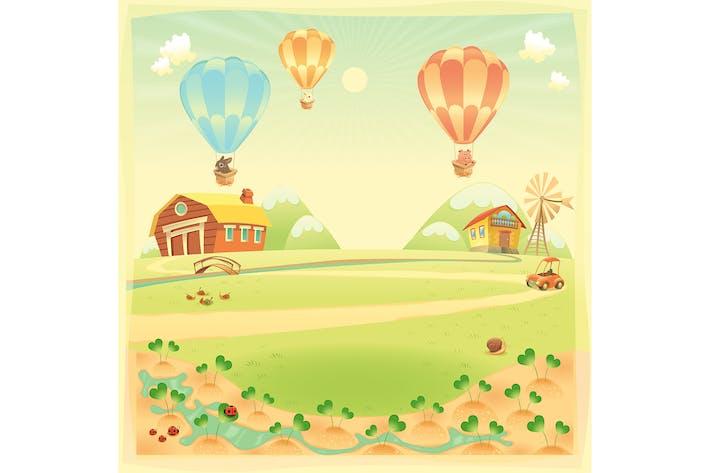 Thumbnail for Farm Background