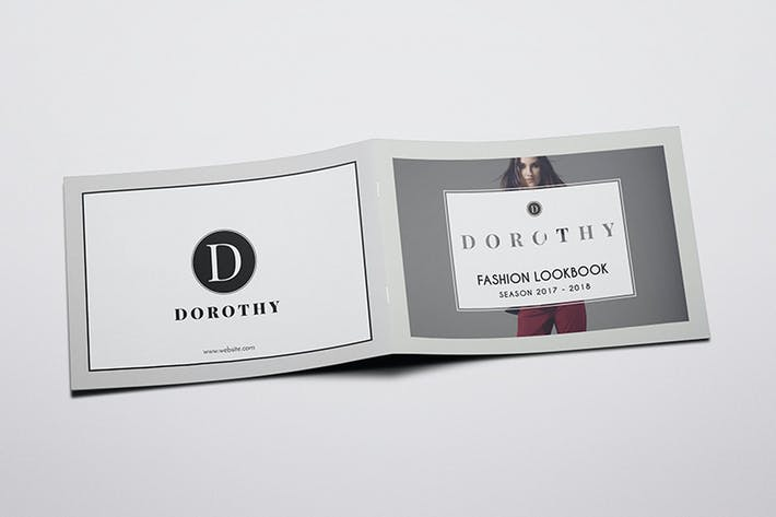 Thumbnail for Dorothy - A5 Fashion Lookbook Brochure Template