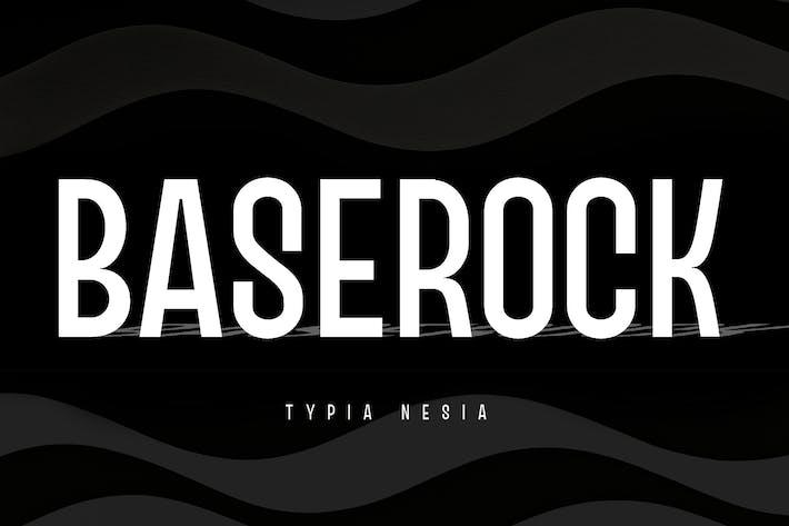 Baserock - Sport and Fashion Condensed Sans
