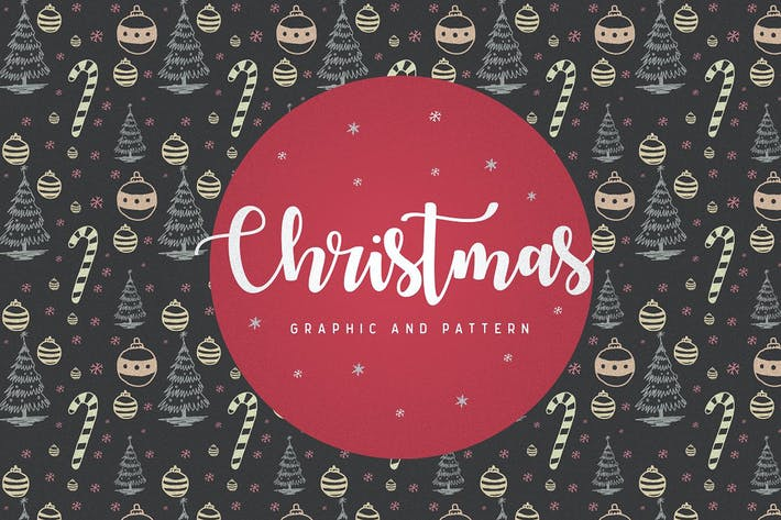 Thumbnail for 66 christmas Patterns & Graphic