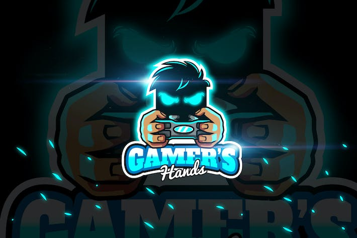 Thumbnail for Gamers Hands - Mascot & Esport Logo