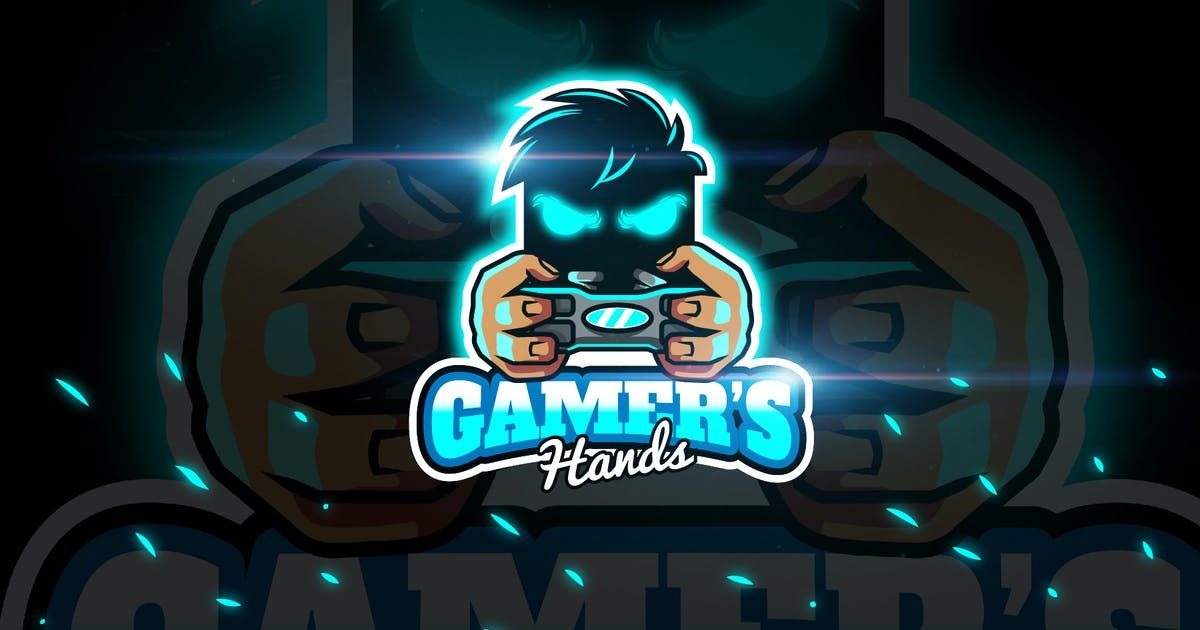 Download Gamers Hands - Mascot & Esport Logo by aqrstudio