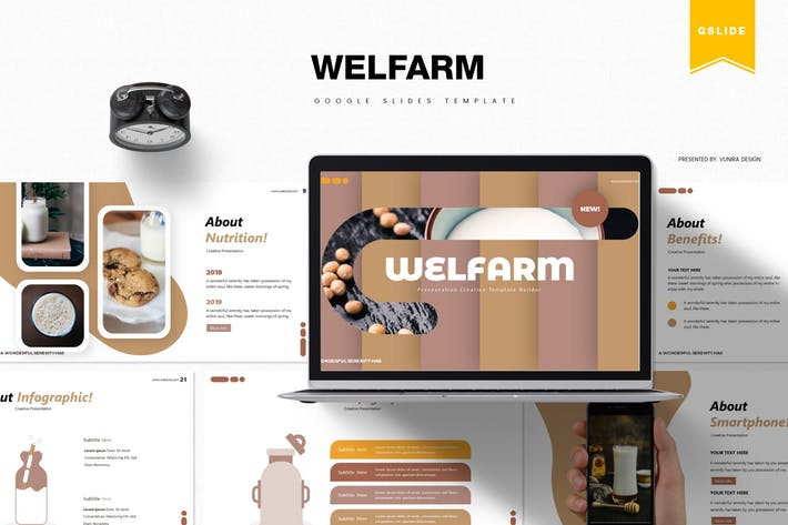 Thumbnail for Welfarm | Google Slides Template