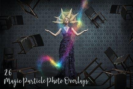 26 Magic Particle Photo Overlays