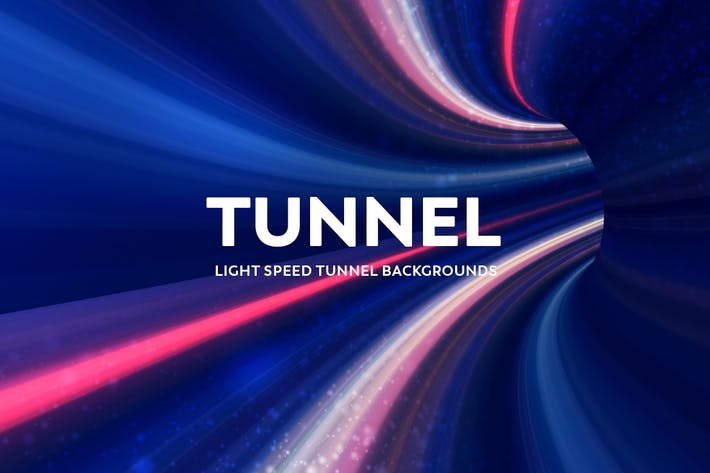 Thumbnail for Light Speed Tunnel Backgrounds
