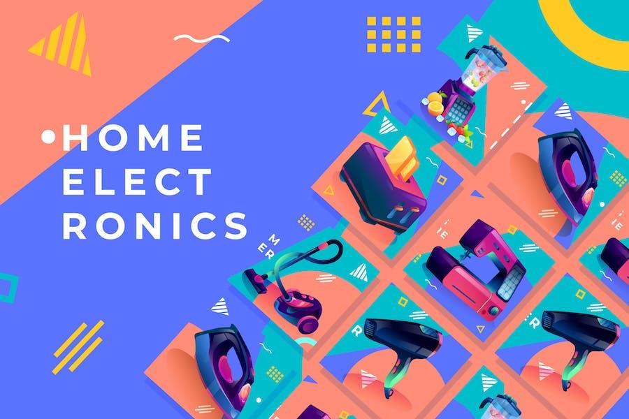Домашняя электроника - Промо продукта Vol.4