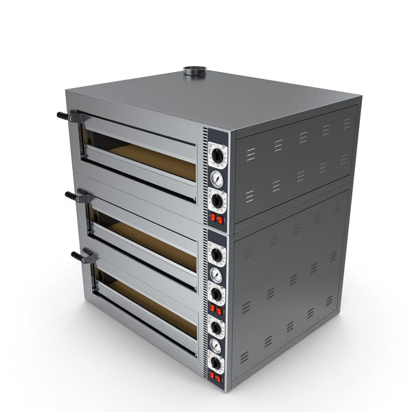 Triple Deck Electric Pizza Oven