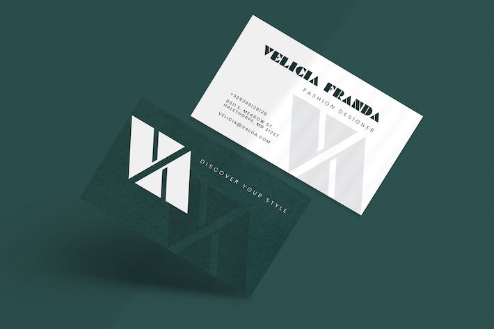 Thumbnail for Fashion Agency Business Card