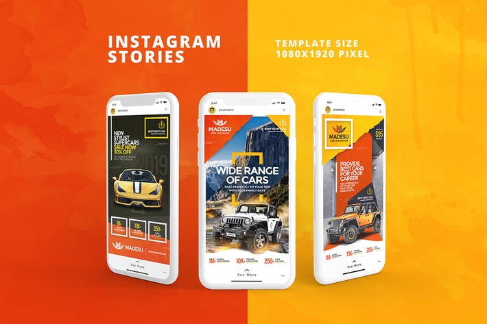 Madesu Instagram Stories Template
