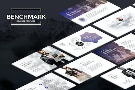 Benchmark - Modern Keynote Template
