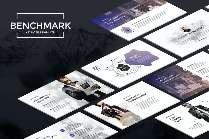 Thumbnail for Контрольный параметр — современный Шаблон Keynote