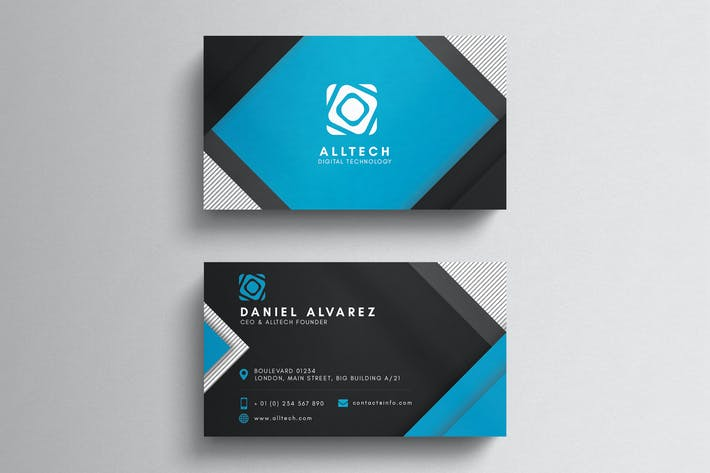 Thumbnail for Corporate Minimal Business Card Template