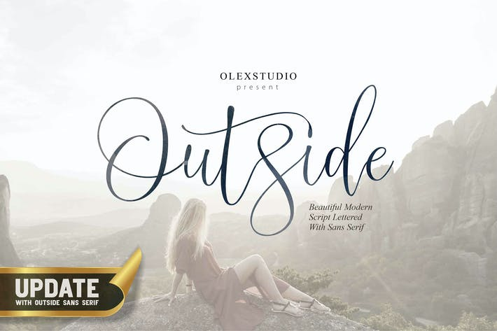 Thumbnail for OUTSIDE - FONT DUO
