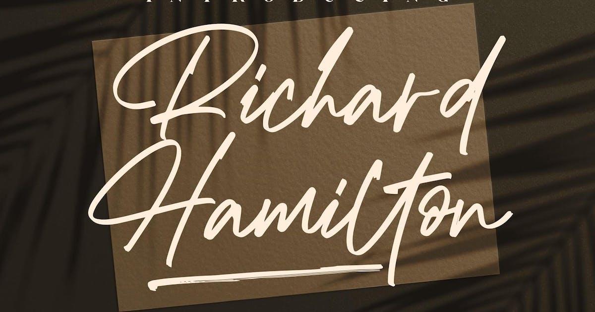 Download Richard Hamilton Signature LS by GranzCreative