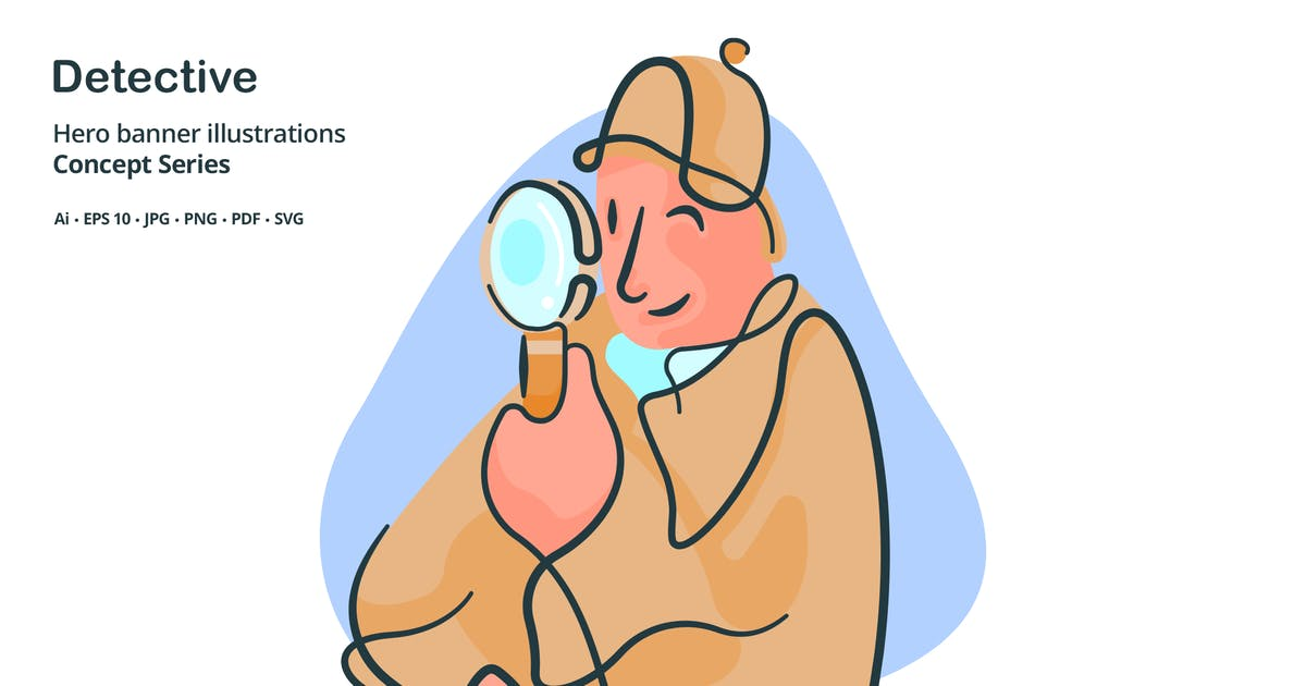 Download Detective Occupation Vector Illustration by roundicons