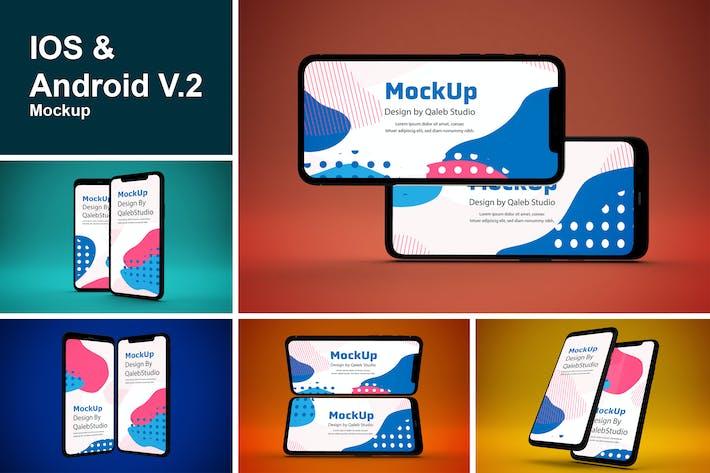 IOS & Android Mockup V.2