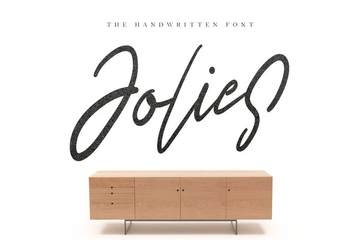 Thumbnail for Jolies Typeface