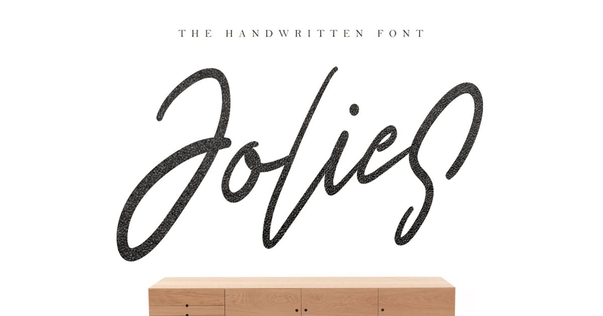 Download Jolies Typeface by maulanacreative