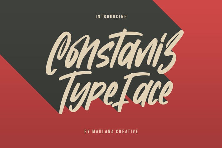 Thumbnail for Constaniz Typeface