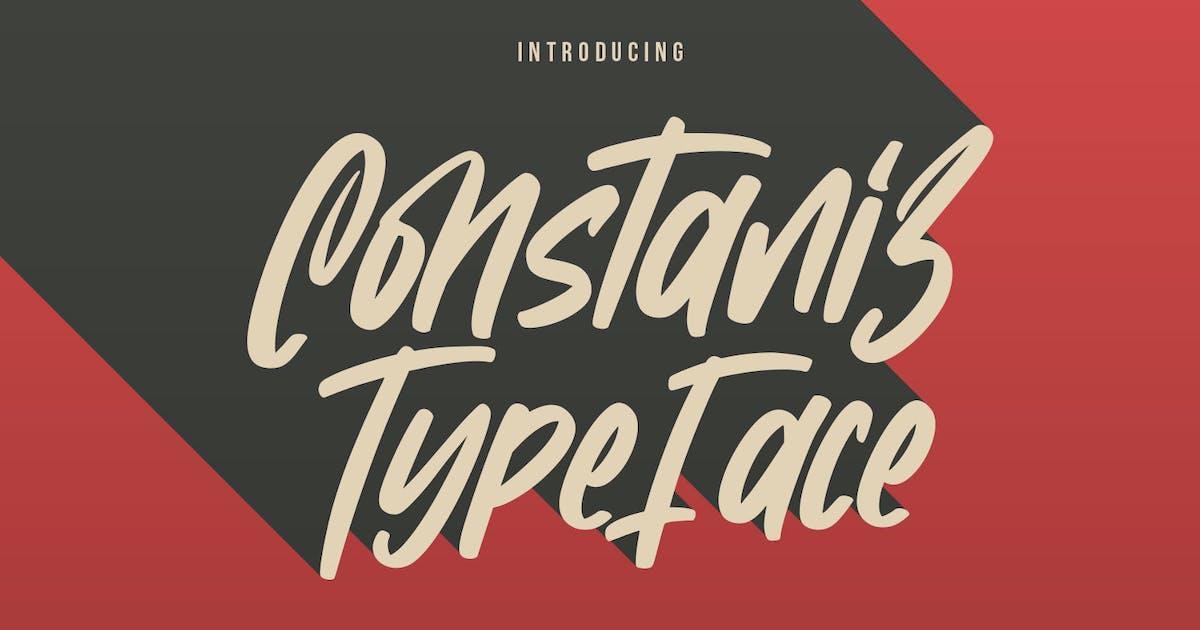 Download Constaniz Typeface by maulanacreative