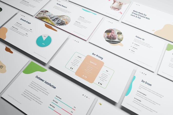 Thumbnail for Ice Cream Powerpoint Template