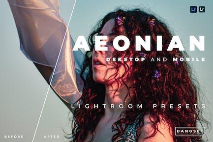 Aeonian Desktop and Mobile Lightroom Preset