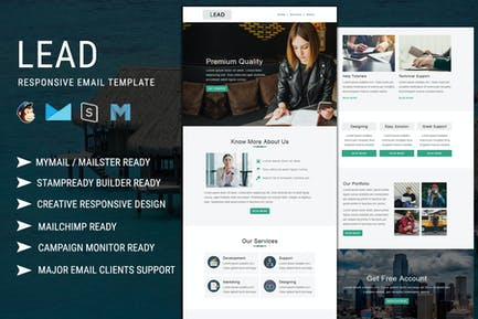 Lead Responsive Email Template