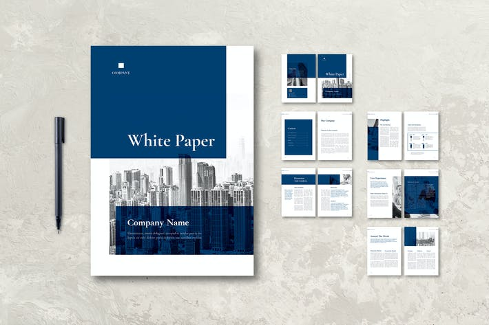 Thumbnail for White Paper Corporate Report