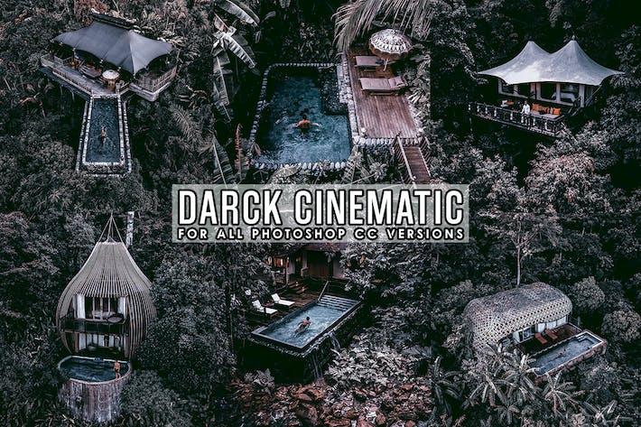 Dark Cinematic Photoshop Action