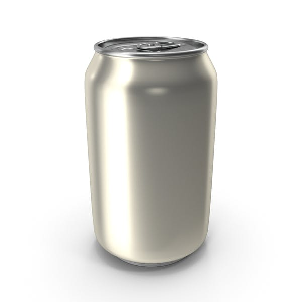 Aluminum Can 330ml Pearl White