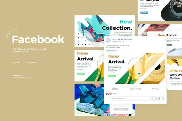 Thumbnail for Facebook Ad Template Vol.5