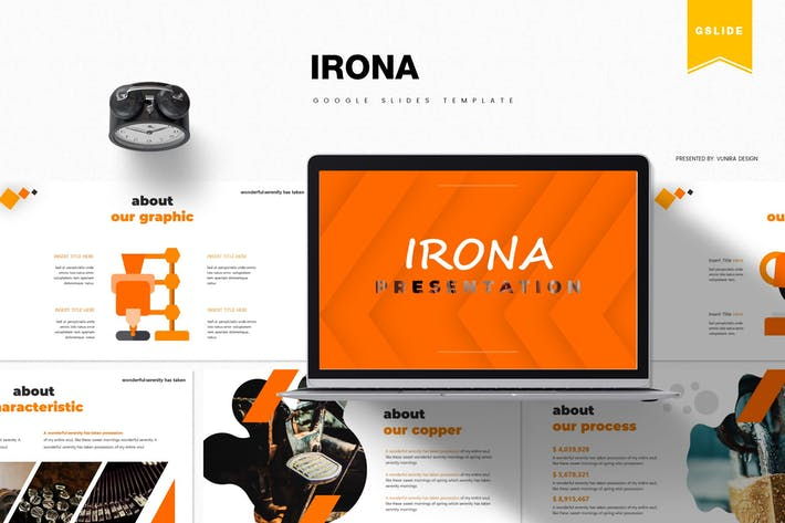 Irona | Шаблон слайдов Google