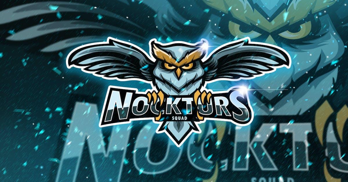 Nockturs Squad - Mascot & Logo Esport by aqrstudio