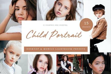 Lightroom Presets - Child Portrait