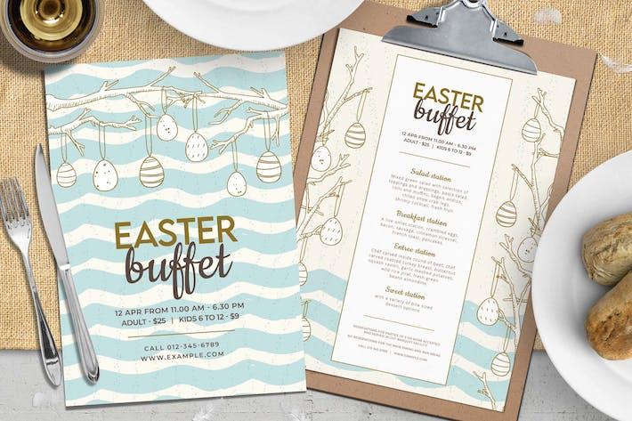 Easter Menu & Flyer Template V.2