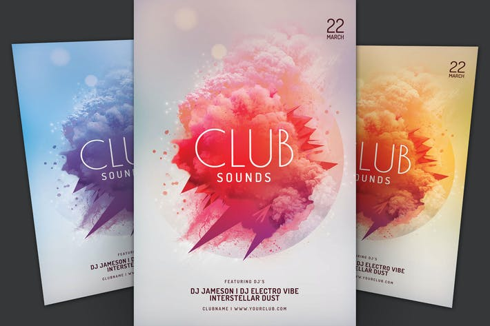 Thumbnail for Club Sounds Flyer