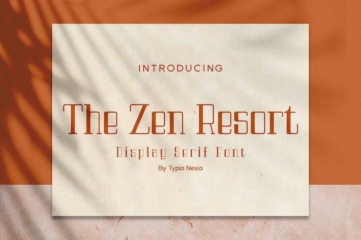 Thumbnail for The Zen Resort - Royal Luxury Font