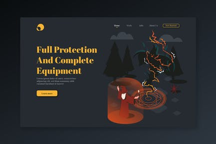 Full Protection And Complete Equipment