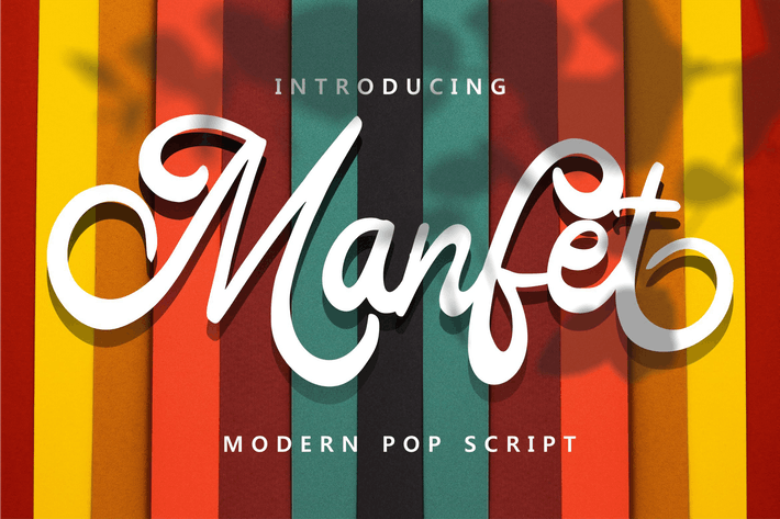 Thumbnail for Manfet - Modern Pop Script