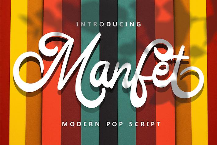 Manfet - Modern Pop Script