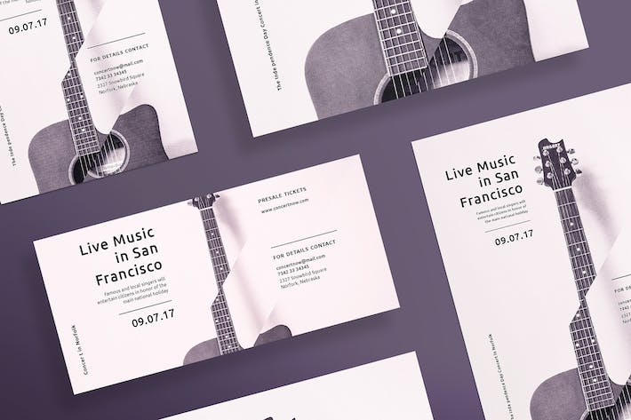 Thumbnail for Music Concert Flyer and Poster Template