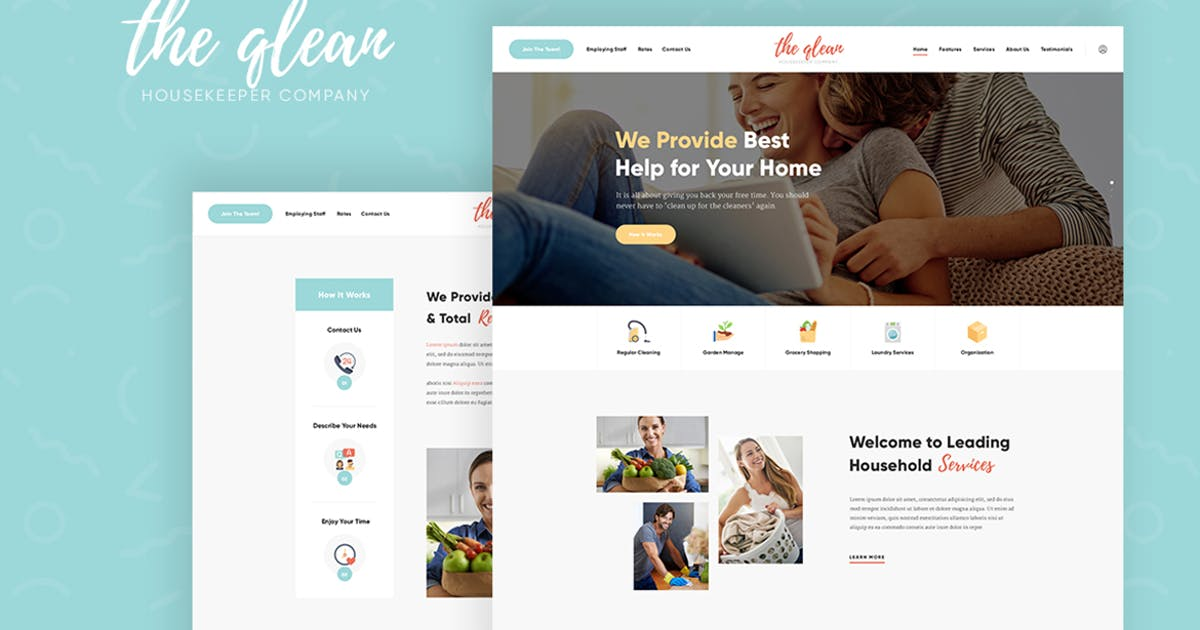 Download The Qlean - Cleaning Company WordPress Theme by ThemeREX