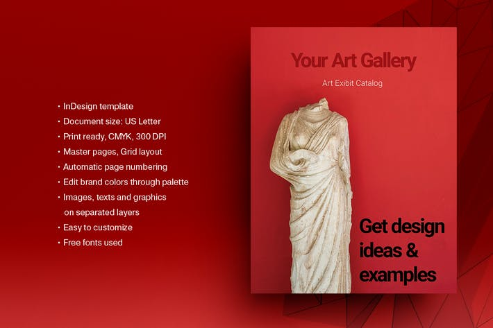 Art Gallery Exhibition Catalog