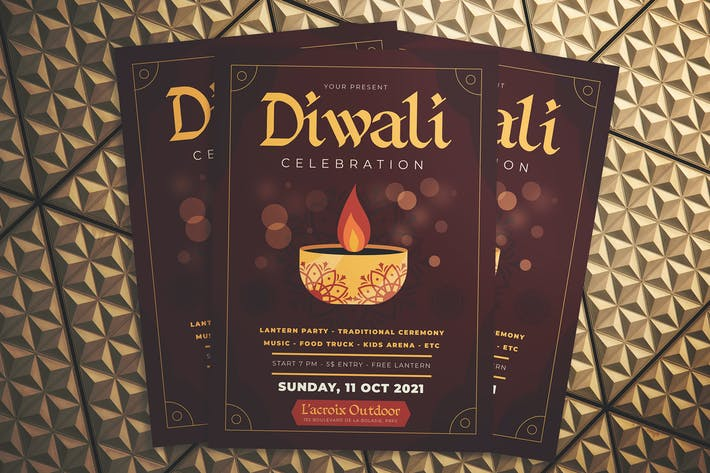 Thumbnail for Diwali Celebration Flyer