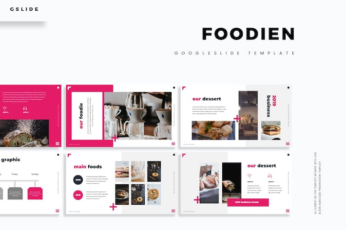 Thumbnail for Foodien - Google Slides Template